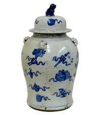 blue and white ginger jars blue and white porcelain ginger ...