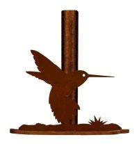 Hummingbird Metal Paper Towel Holder - Kitchen Accessories