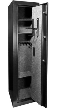 Barska Large Biometric Rifle Safe AX11898 - Gun Cabinets