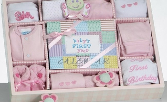 New Baby Girl Necessities First Year Gift Set