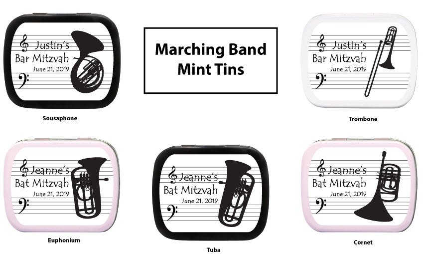 Marching Band Favors