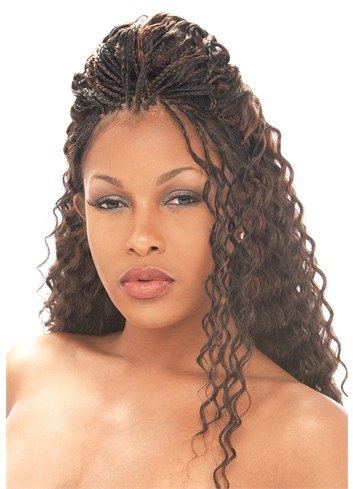 MODEL MODEL GLANCE BRAID SUPER WAVE Crochet Braids AFRICAN