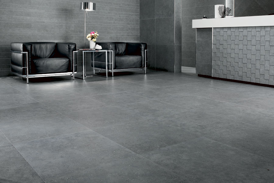 Atlas Concorde Seastone Gray Porcelain Tile 12 X 24