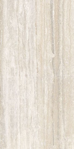 Iris US Travertini Al Contro Bianco Porcelain Tile 24 x