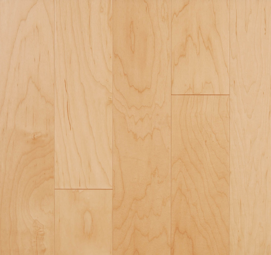 LM Flooring Kendall Natural Maple Hardwood Flooring 5 x