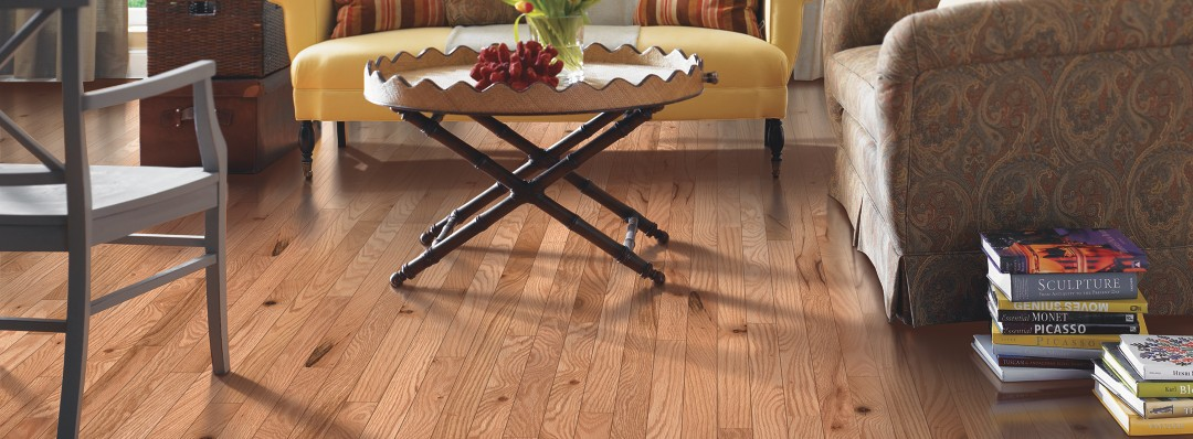 Mohawk Granite Hills Red Oak Natural Hardwood Flooring