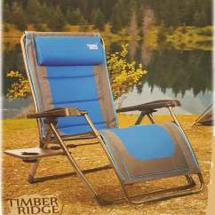 Timber Ridge Outdoor Chairs Luxury Office India Camp Lounger|timber Zero Gravity Chair Lounger