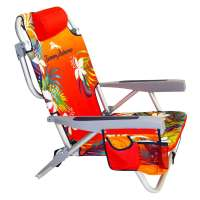 Tommy Bahama Chair Backpack - Floral Orange
