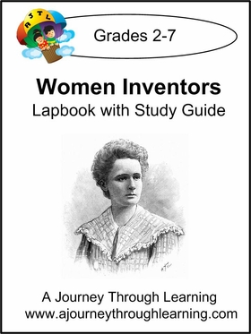 Women Inventors Lapbook with Study Guide