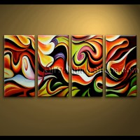 extra large Wall Art Abstract Painting Home Decoration ...