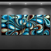 extra large wall art colorful abstract oil painting on ...