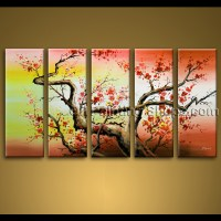 extra large wall art hand painted abstract floral oil ...