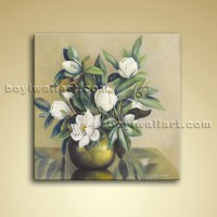 Modern Abstract Floral Painting Bouquet Flower Oil On ...