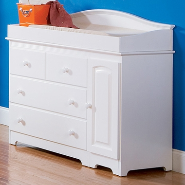 Atlantic Furniture Windsor Combo Changing Table 3 Drawer Dresser in White FREE SHIPPING