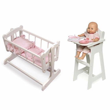 baby toy high chair set cheap recliner badger basket doll simply furniture 89 99