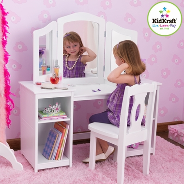 KidKraft Vanity And ChairSimply Baby Furniture 18900