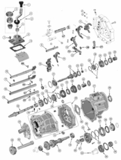 5th Synchro Key, AX15 Manual Transmission 83506256