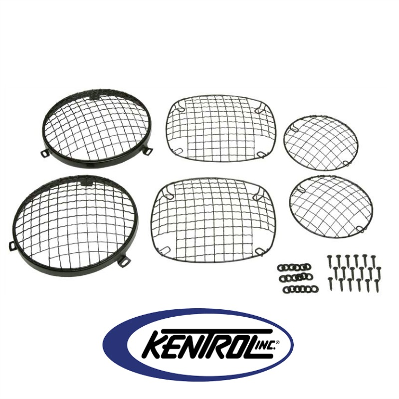 Kentrol 50465 Black Powder Coated Stainless Wire Mesh