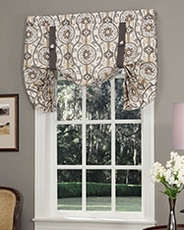Tie Up Curtains & Balloon Curtains