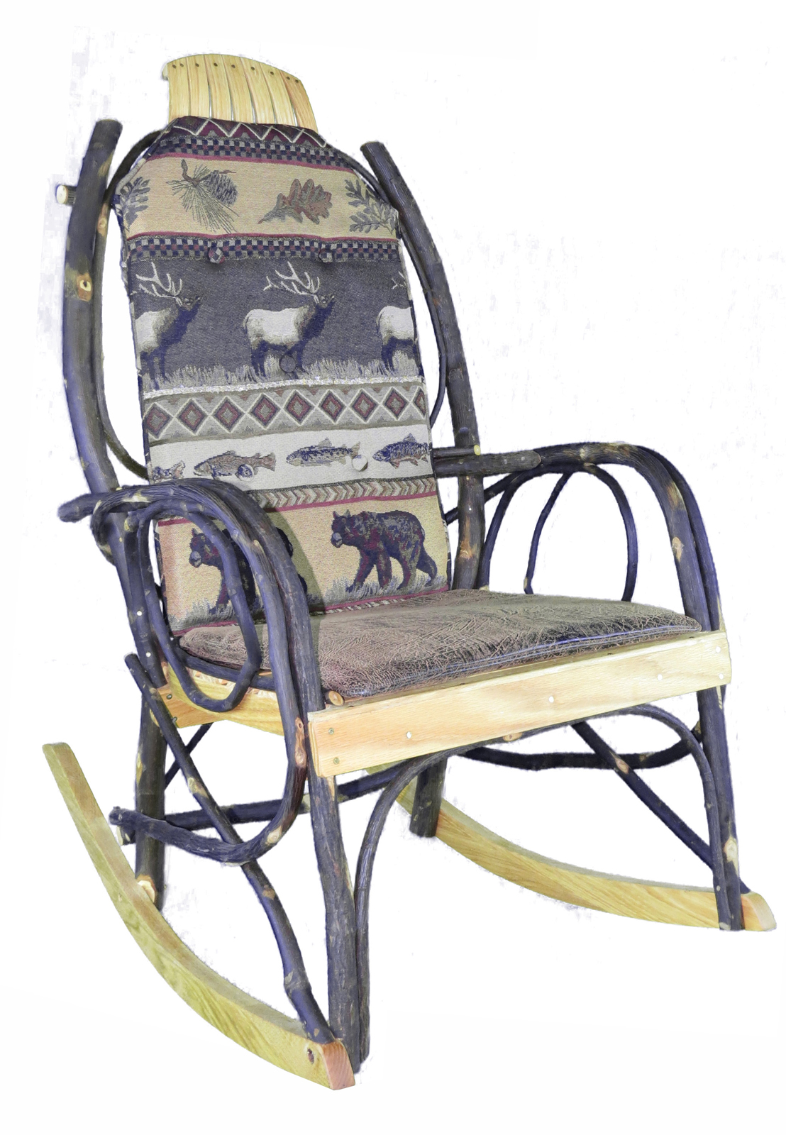 amish made rocking chair cushions cheap silver spandex covers for sale cushion set