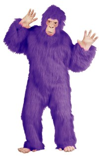 Purple Gorilla Costume