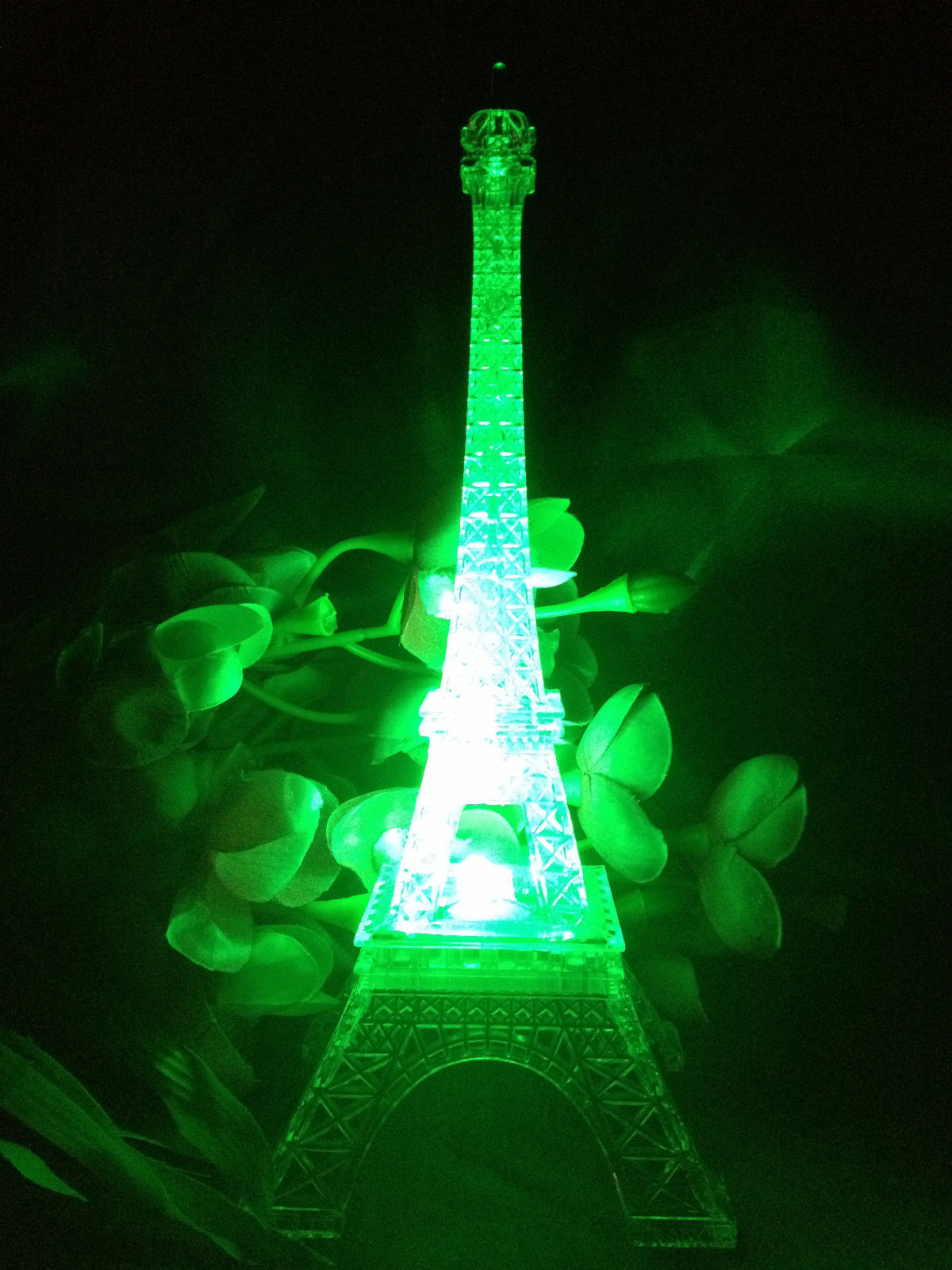 desk chair for sale jerry wheelchair 9 inch light up acrylic led eiffel tower souvenir w/ build in multicolor lights. battery ...