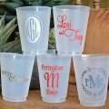 Personalized shatterproof party cups custom plastic cup