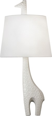 Robert Abbey (730L) Jonathan Adler Ceramic Giraffe Left