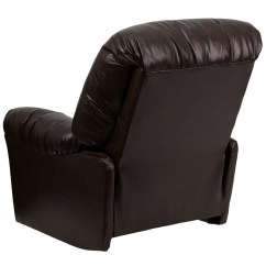 Best Power Recliner Chairs Canada Foam For Australia Contemporary Bentley Brown Leather Chaise Rocker [am-c9350-9075-gg]