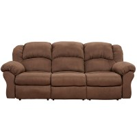 Microfiber Reclining Sectional Sofa