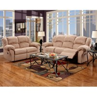 Exceptional Designs Reclining Living Room Set in ...