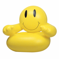 Smiley Face Inflatable Chair|The Cutest Chair Ever!