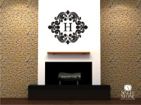 Baroque Monogram - Wall Decals - Wall Decals | Wall ...