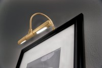 LED Battery Operated Picture Light with Dimmer, Rite Lite