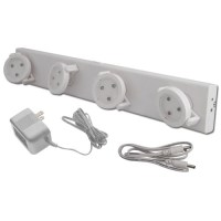 LED Battery Operated Track Light with AC Adapter, Rite Lite