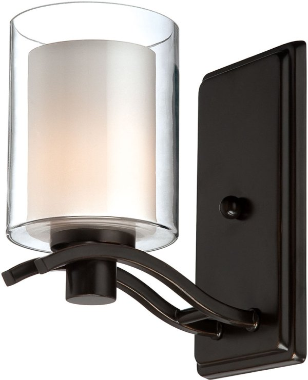 Artcraft AC5731OB Andover Contemporary Oil Rubbed Bronze Halogen Wall Mounted Lamp - ART-AC5731OB