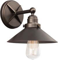 Feiss VS23401ANBZ Hooper Vintage Antique Bronze Wall Light ...