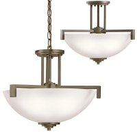 Kichler 3797OZS Eileen Contemporary Olde Bronze Drop ...