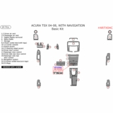 Fits 2004 2005 2006 2007 2008 Acura Navigation System