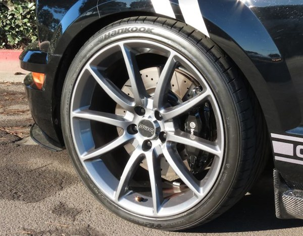 Ford Mustang Gt500 Wheels Gunmetal 20 Staggered Set