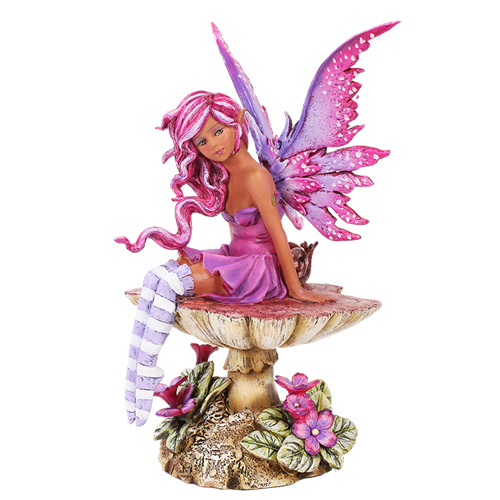 Magenta Faery Figurine Amy Brown Faery Gifts