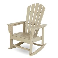 POLYWOOD South Beach Rocking Chair, Adirondack Rocking