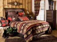 (CARJB1701) ''Cimarron'' Western 5-Piece Bedding Ensemble ...