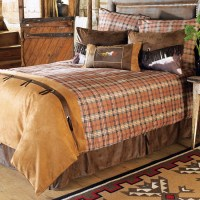 (CARJB1726) ''Saddleback'' Western 7-Piece Bedding Set ...