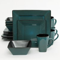 Square Plates Dinnerware Set