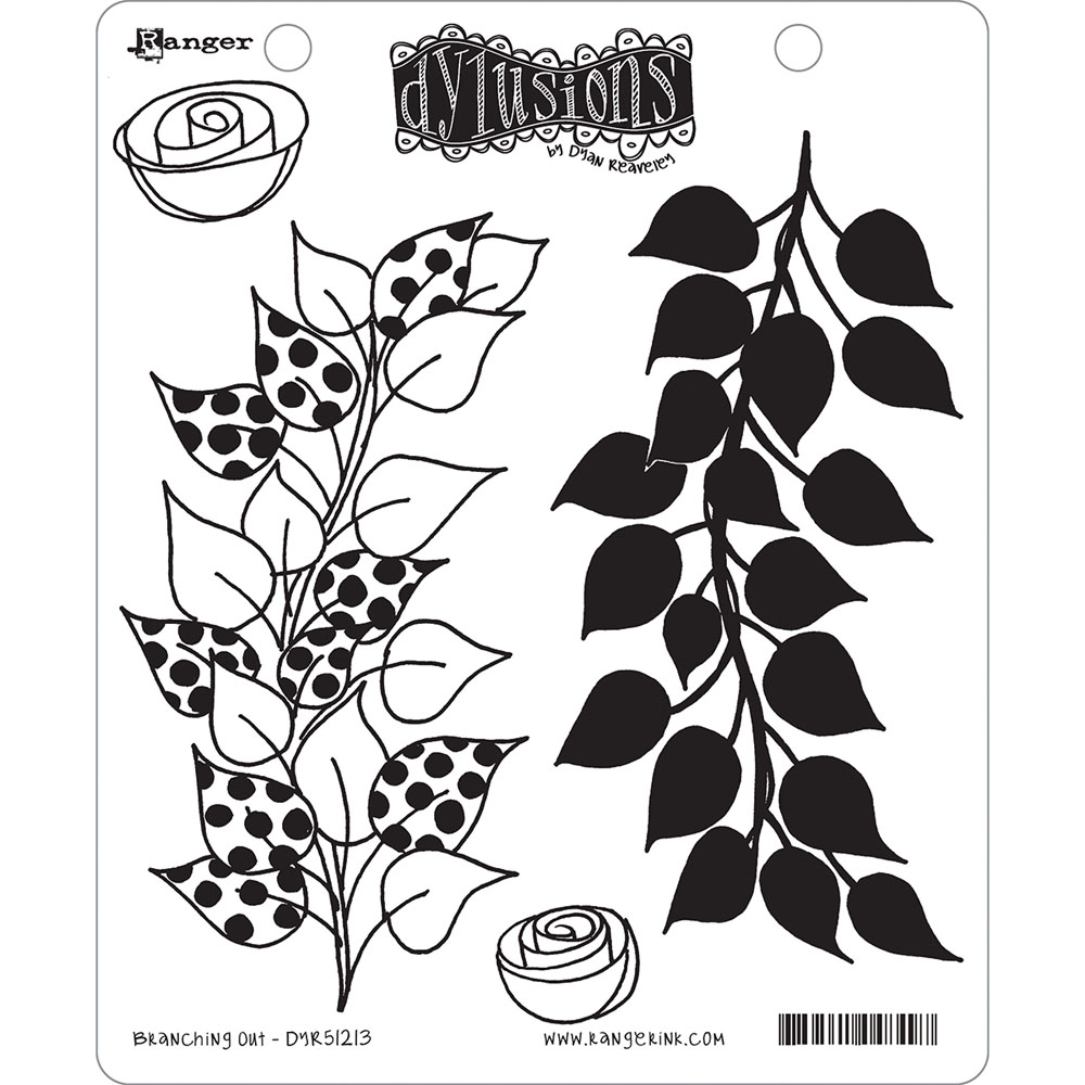 Dylusions by Dyan Reaveley Cling Stamp Collections