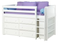 loft beds with storage - 28 images - ranger twin over full ...