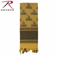 Rothco Shemagh Desert Tactical Scarf - Coyote w/ Snakes