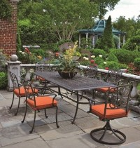 Cast Aluminum: Hanamint Cast Aluminum Patio Furniture