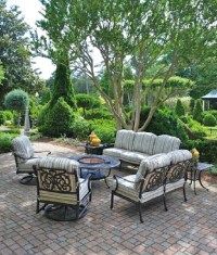 Chateau By Hanamint Luxury Cast Aluminum Patio Furniture ...